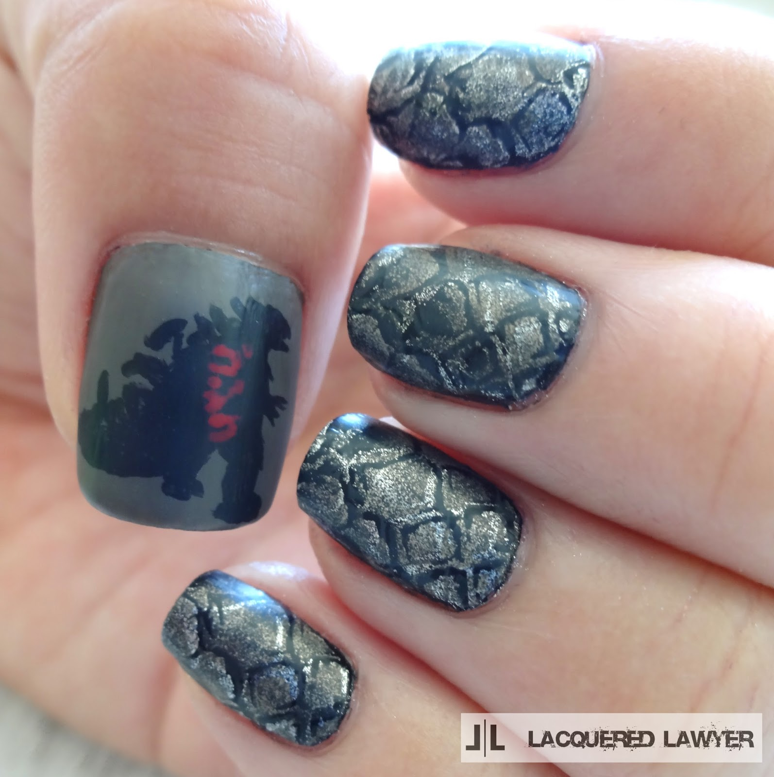 Godzilla Nails