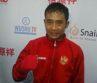 Yusuf Beri Indonesia Emas di Hari Terakhir Kejuaraan Dunia Wushu
