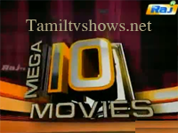 Mega Ten Movies 09-03-2014 Raj tv Top 10 Movies Program