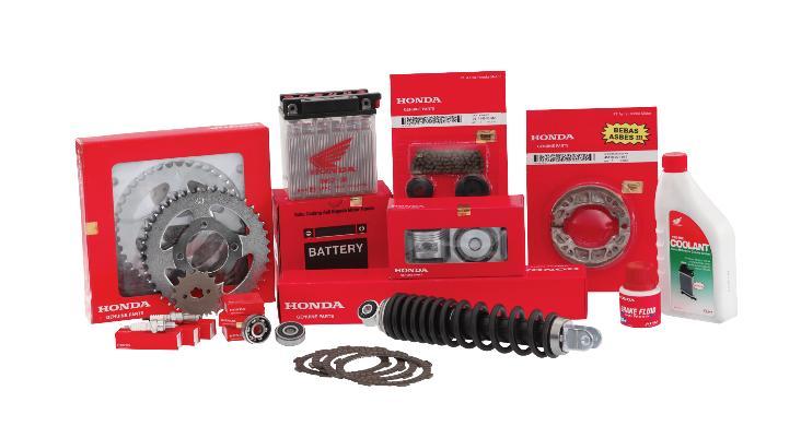 Honda Spare Parts