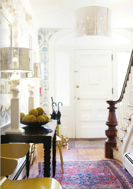 Octagonal Foyer Rug : Sadie stella monday musings eclectic entryways