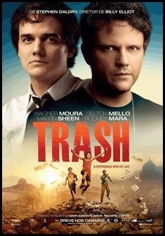 Póster brasileño de Trash, ladrones de esperanza (Stephen Daldry, 2014)