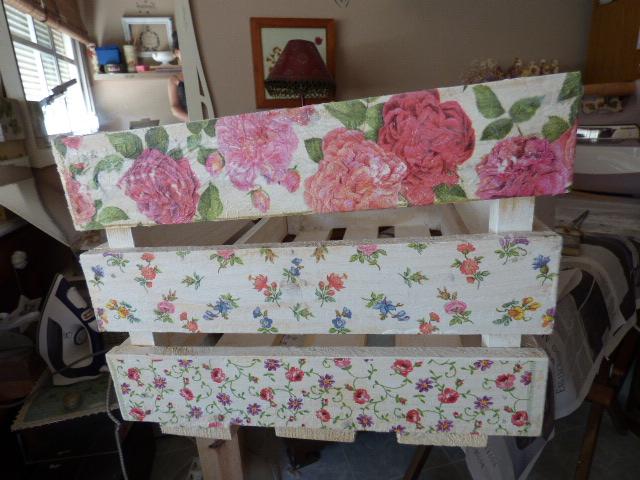 Muebles de caja de frutas paso a paso 20170718094013 - Decoupage con servilletas en muebles ...