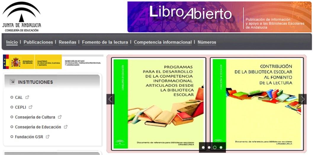 Biblioteca del ies sierra de mijas nuevo portal de for Junta de andalucia educacion oficina virtual