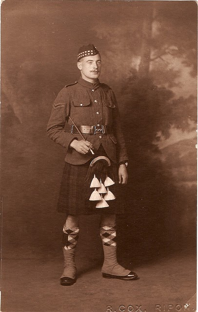Seamstress Hides Secret Message in Kilt in WW1