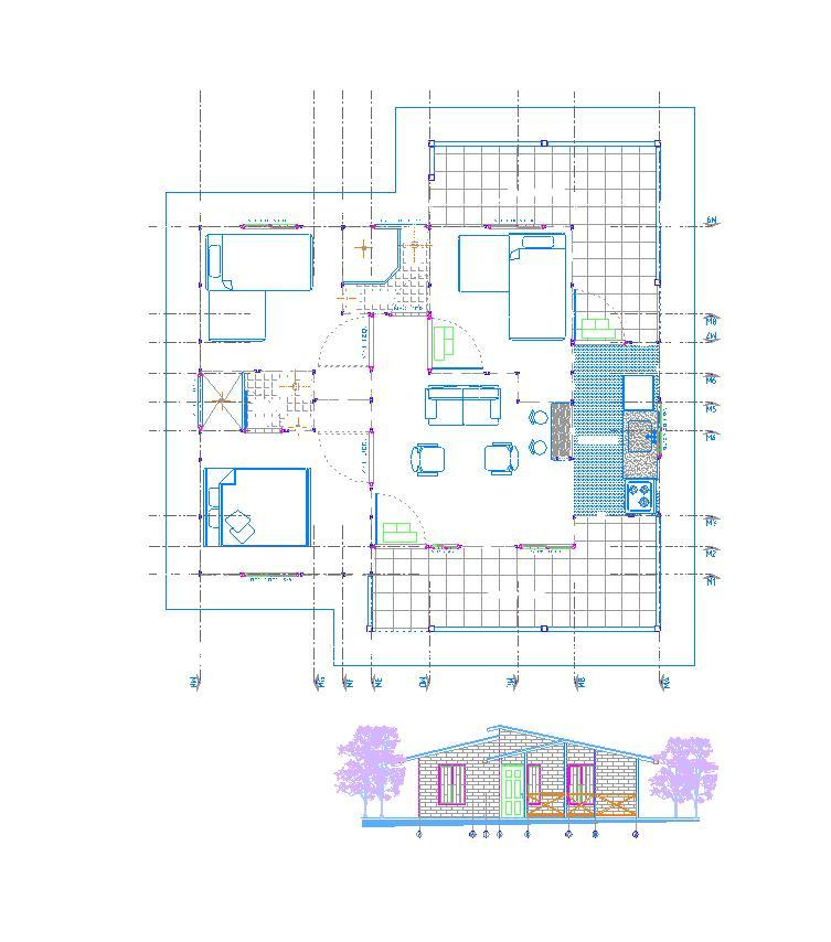 Planos de casas modelos y dise os de casas plano de - Construccion y diseno de casas ...