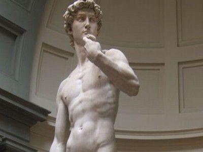 El David de Miguel Angel. Las esculturas más famosas del renacimiento.