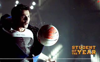 Student Of The Year Varun Dhawan playing footwall wallpaper