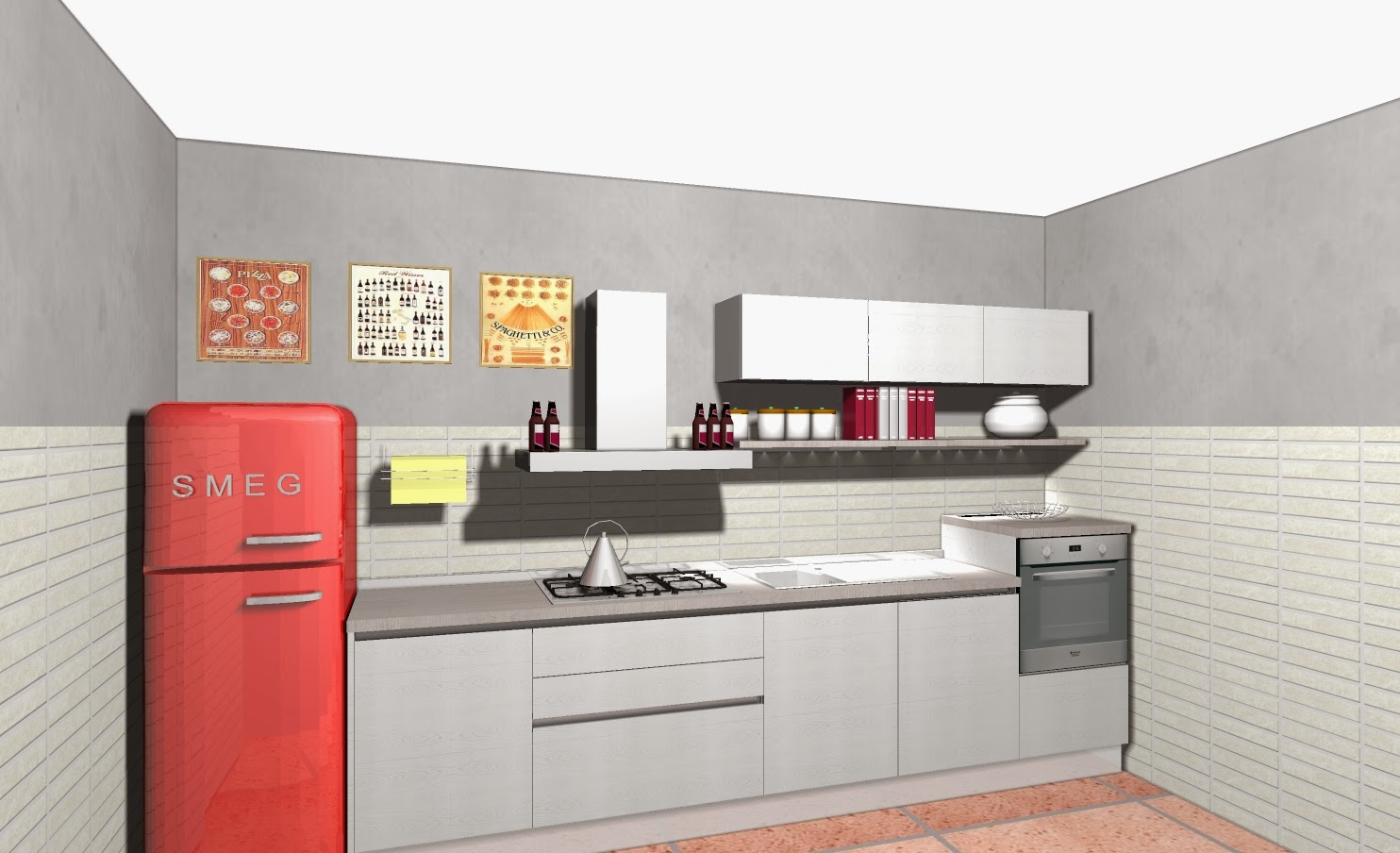 Disegna cucina free particolare del piano di lavoro in lava decorata grigio su nero della - Disegnare cucine gratis ...