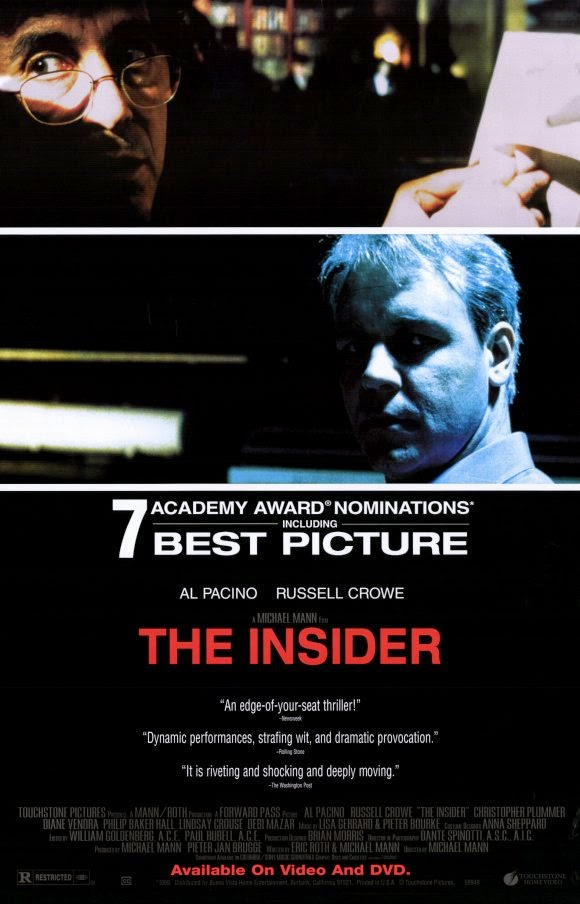 Image result for The Insider 1999 Poster