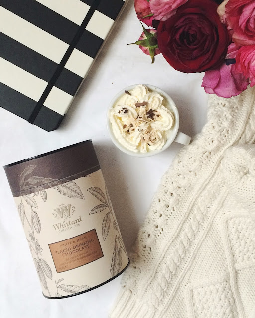 whittard hot chocolate, kate spade diary