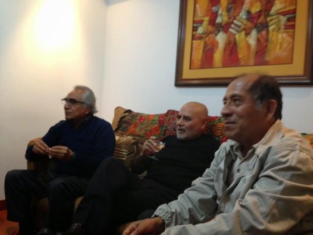 FOTOS DE LA REUNIÓN CON NUESTRO COMPAÑERO MENACHO EN CASA DE LUCHO LINAREZ