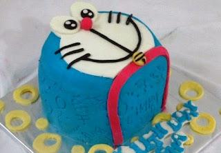 Kue Ulang Tahun Doraemon Tokoh Doraemon