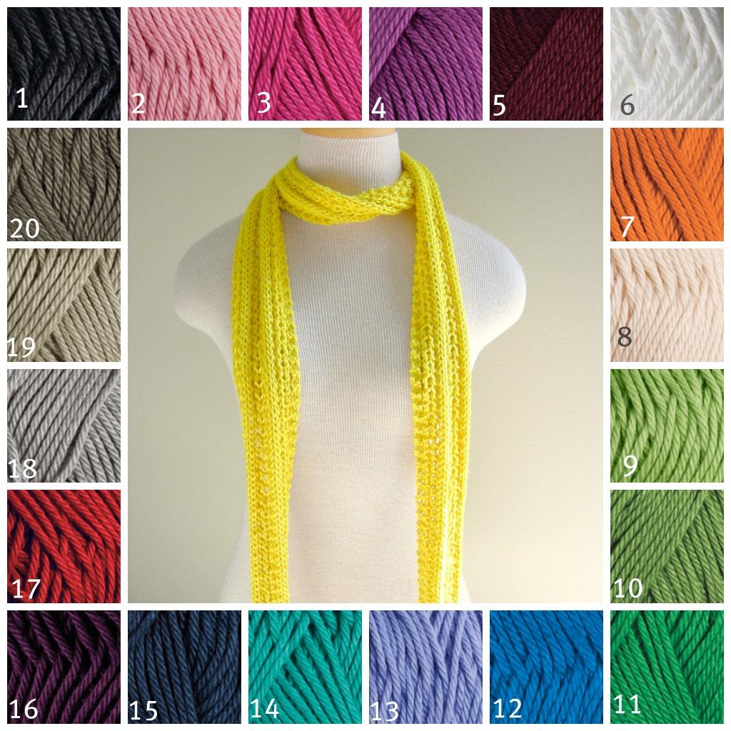 windycityknits custom scarf giveaway