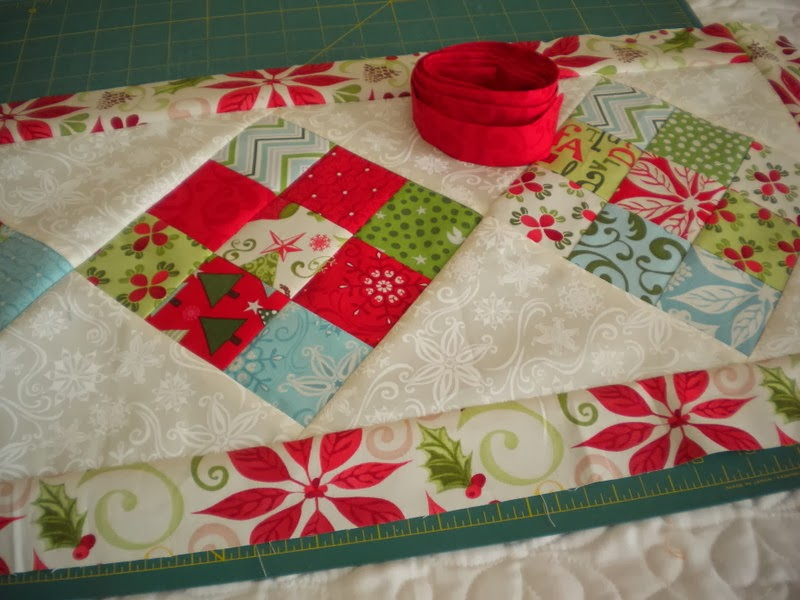 Simple 9 Patch Table Runner Parade A Quilting Life