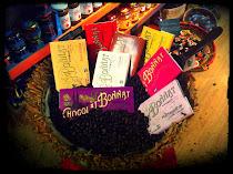 une grande variété de chocolat