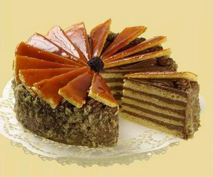 hongaarse dobos taart