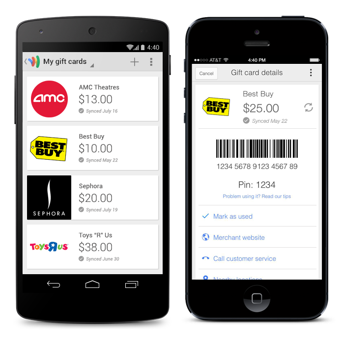 Google Commerce: Manage your gift cards, request money and send ...