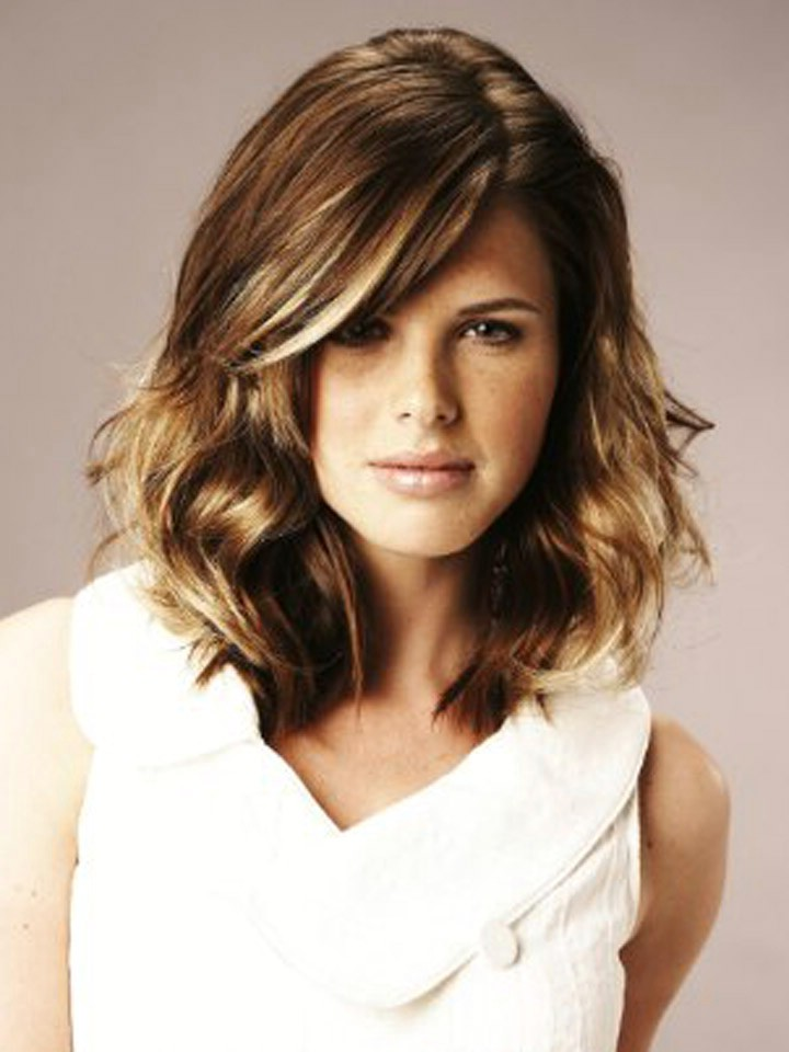 Fashioneye: 2012 Medium Length Hairstyles