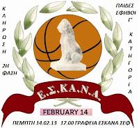 Την Πέμπτη 14 Φεβρουαρίου η κλήρωση της 2ης φάσης της Γ΄ παίδων και εφήβων