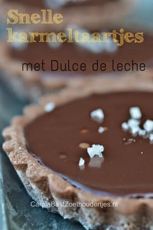 Lekker en lekker snel: deze karamel chocolade taartjes