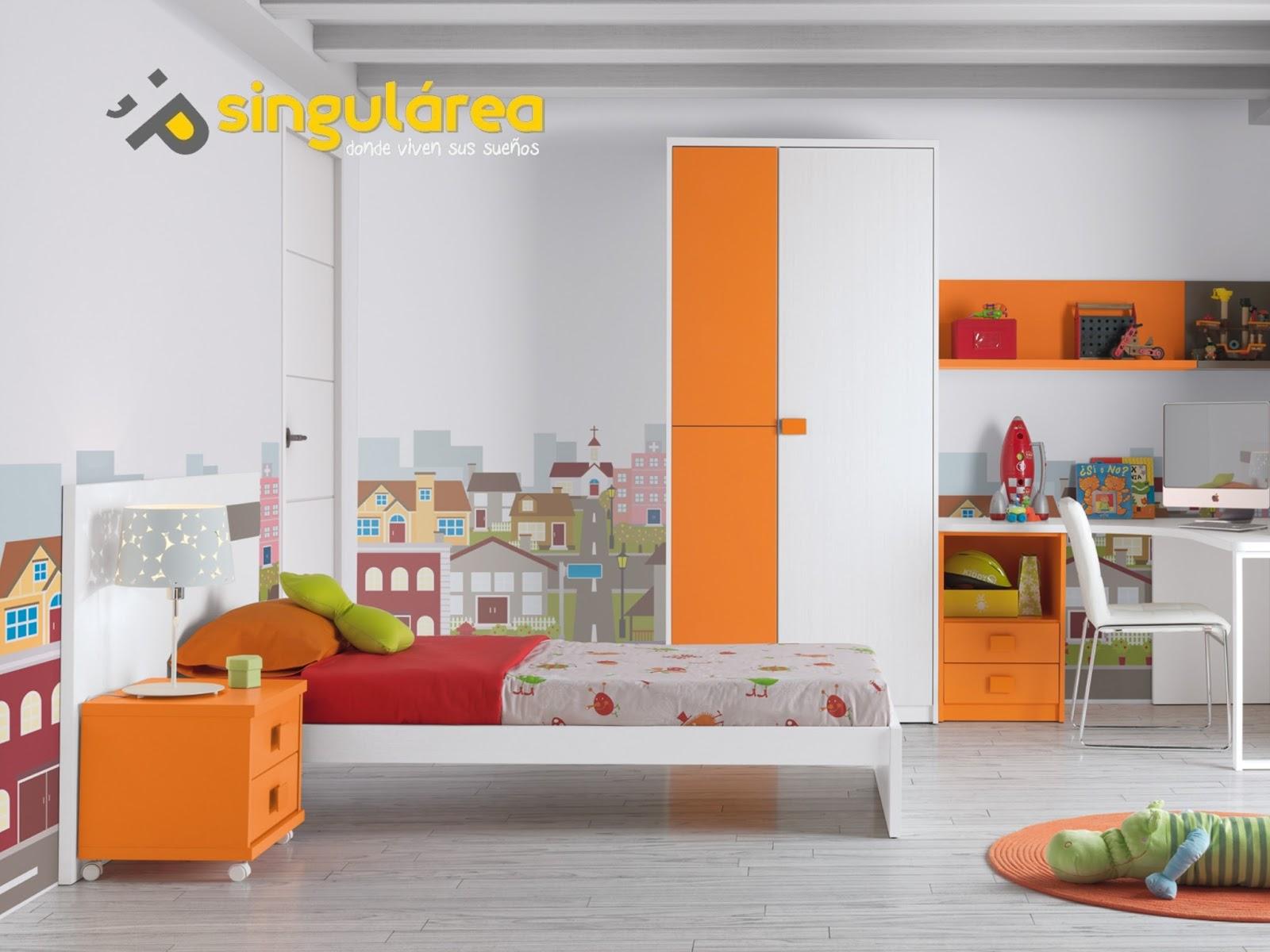 Dormitorio juvenil sin armario 716 for Dormitorios juveniles sin armario