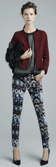 Zara mujer invierno 2012