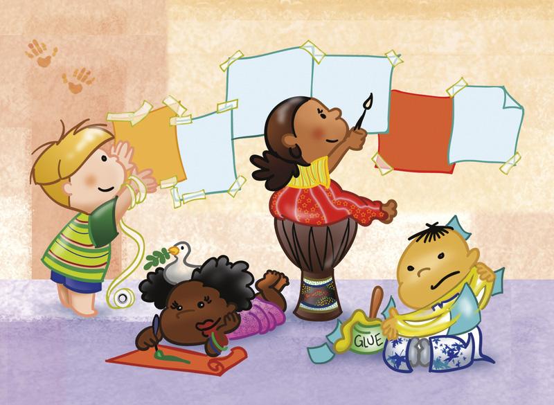 Lu Rosa Educação Em Ação A Importância Da Arte Na Educação Infantil