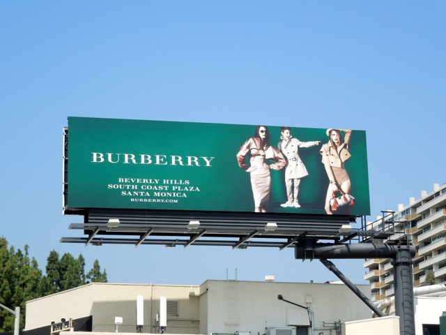 Burberry Beckham billboard May13