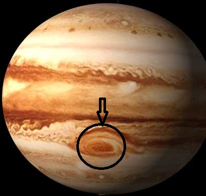 how to see the great red spot