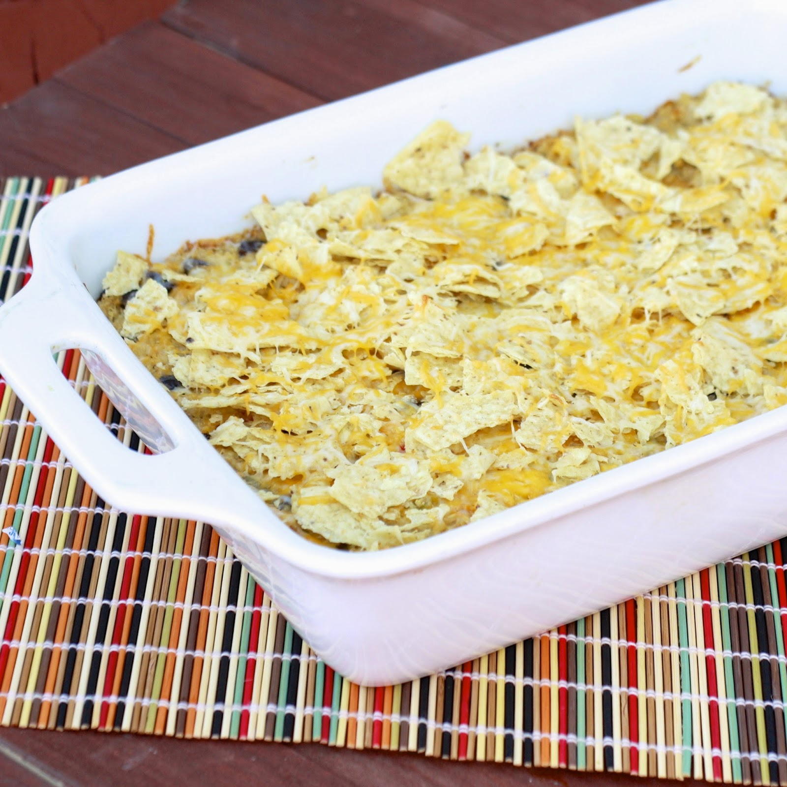 Salsa Verde Quinoa Bake | The Sweets Life