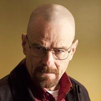 Walter White Breaking Bad Brian Cranston Bald Actor