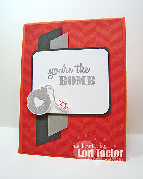 You're the Bomb card-designed by Lori Tecler/Inking Aloud-stamps from Sugar Pea Designs