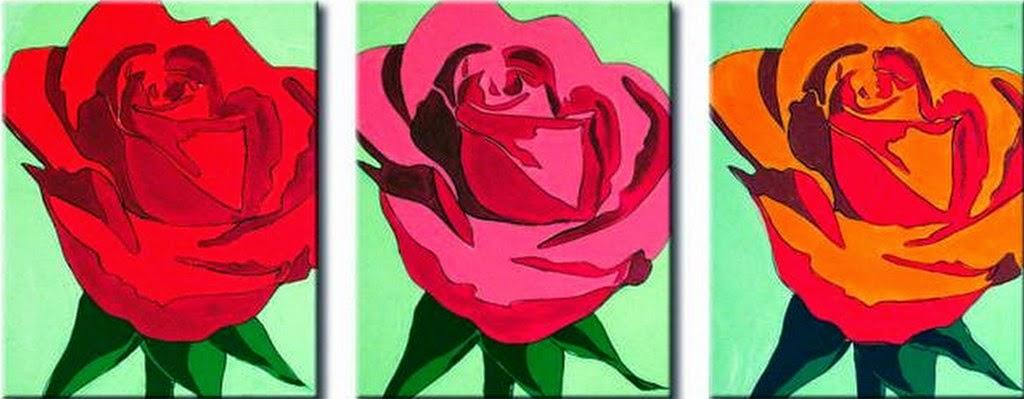 Cuadros modernos pinturas y dibujos im genes de flores para pintar en cuadros - Cuadros modernos para pintar ...