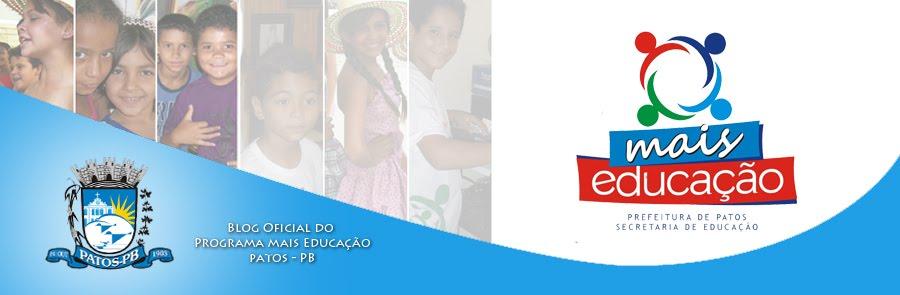 Blog do Mais Educação - Patos / Paraíba