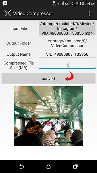 Cara Merubah/ Memperkecil Ukuran Video Di Android