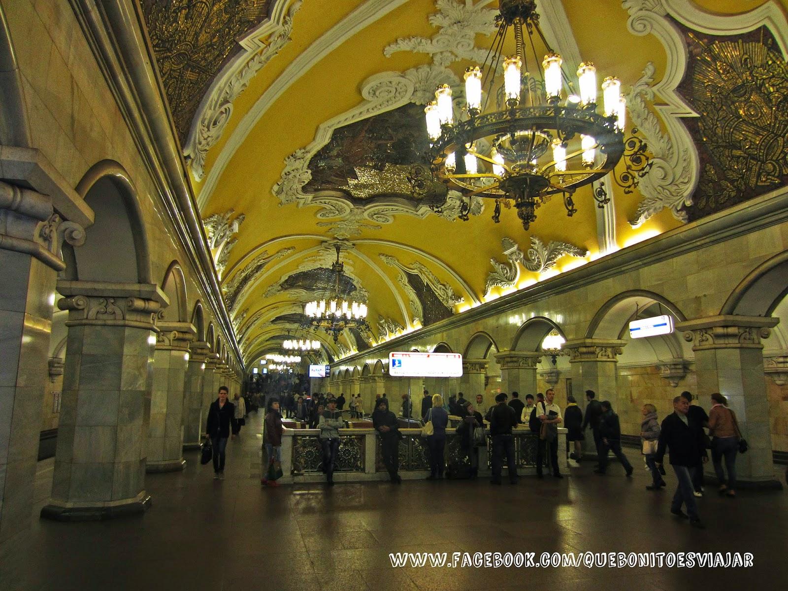 Estación de Komsomolskaya