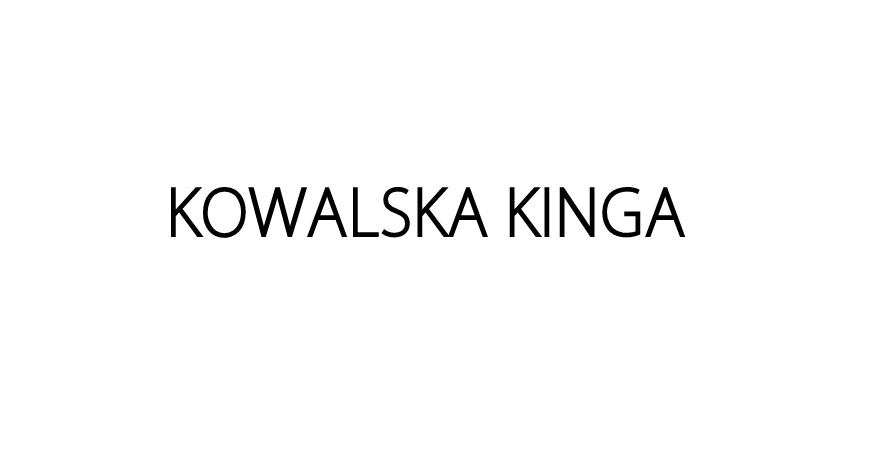 Kowalska Kinga