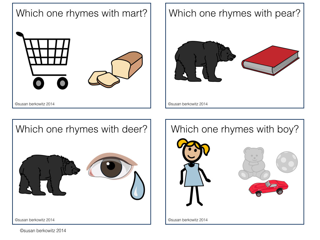 Worksheet Rhyming Words For See kidz learn language january 2016 here are some rhyming task cards for you to use see if students can identify words