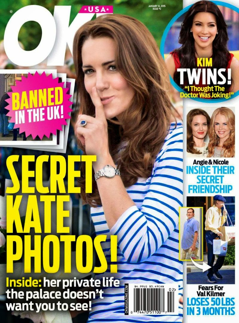 Kate Middleton - OK Magazine, USA, January 2015