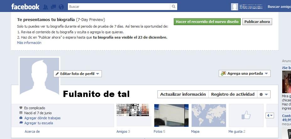 Dise  A La Portada De Tu Nuevo Timeline De Facebook