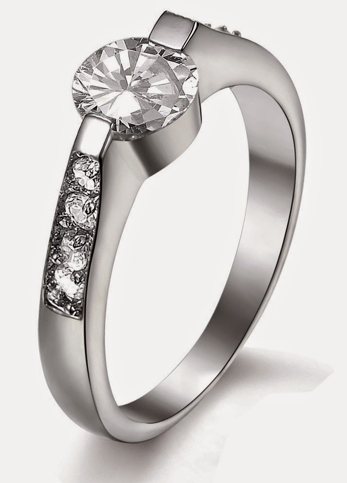 Beautiful White Gold Diamond Wedding Rings for Women design pictures hd