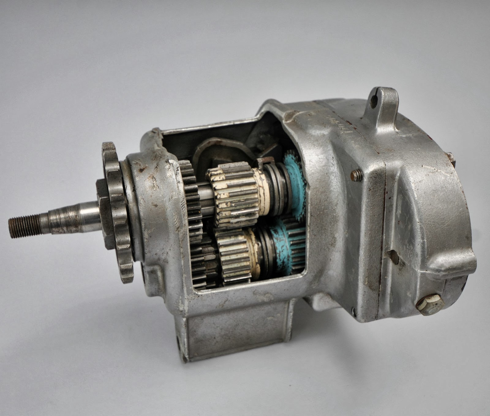 Geekbobber Triumph Cutaway Gearbox Used For Instruction At Johnson Gear Box Of Motorcycle Sometimes I Feel Like Im Developing An Unhealthy Interest In Memorabilia One More Reason Limited Money May Not Always Be A Liability