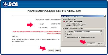 Buka+Rekening+Tabungan+BCA+via+Internet 7 CARA BUKA REKENING TABUNGAN BCA via INTERNET