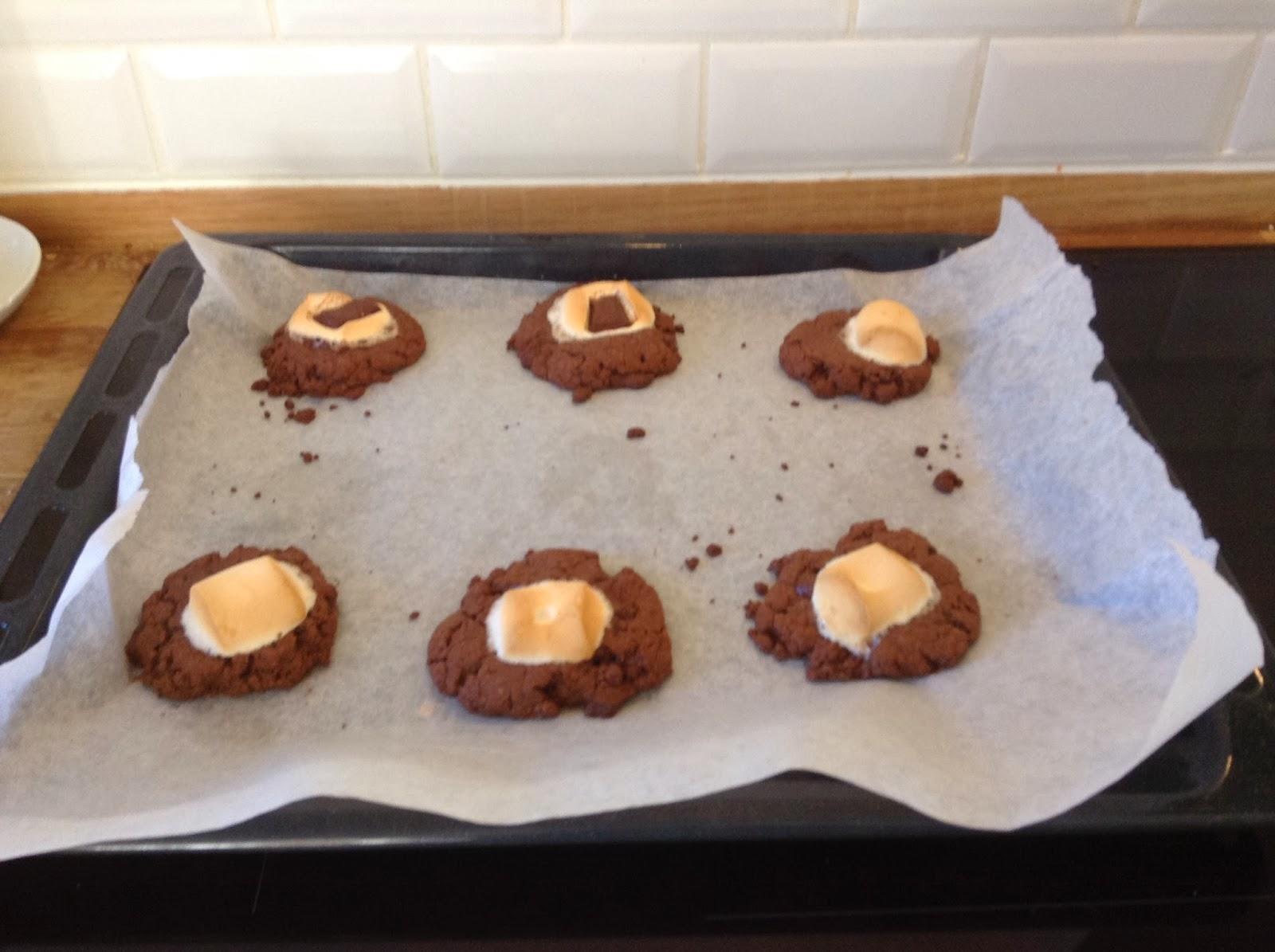 Baked cookies,