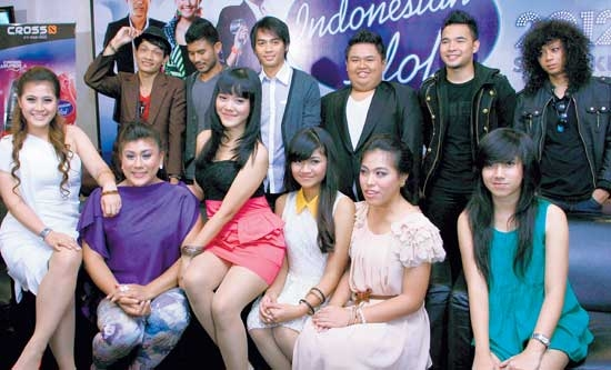 Hasil Indonesian Idol 25 Mei 2012 Spektakuler Show 7