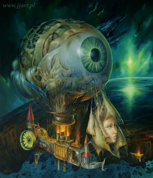 06-Jarosław-Jaśnikowski-Surreal-Paintings-of-Fantastic-Realism-www-designstack-co