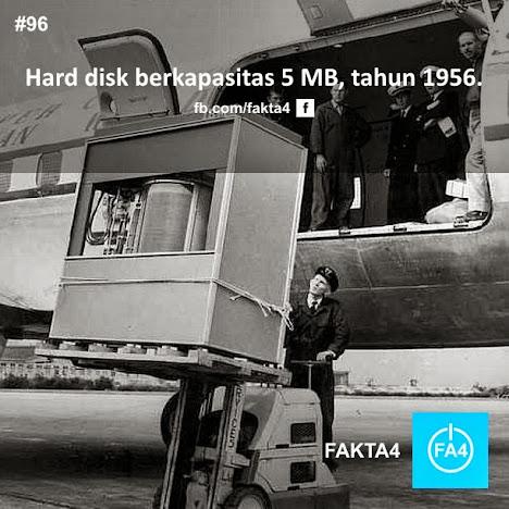 Hard disk berkapasitas 5 MB