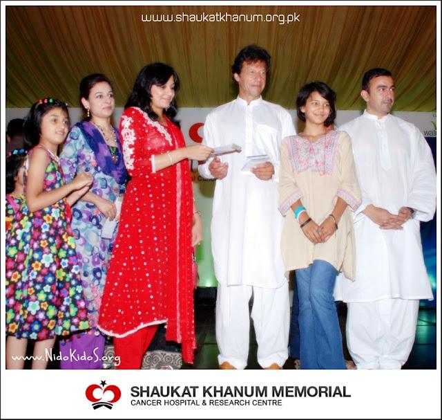 imran khan at annual dinner