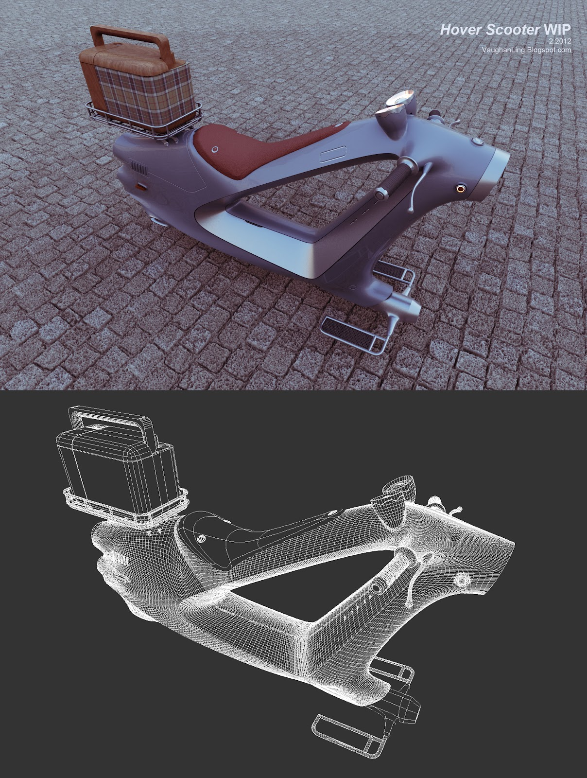 Hover scooter progress